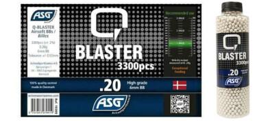 Airsoft Μπίλιες 0.20gr 6mm/3300 (BLASTER)