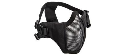 Airsoft Μάσκα προστασίας ASG lower half (Black)
