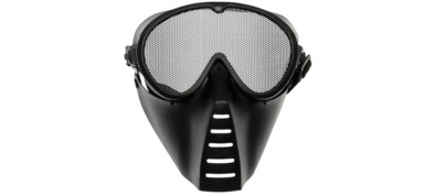 Airsoft Μάσκα Full Face Black ASG