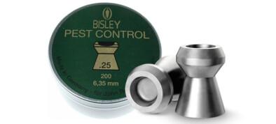 Βολίδες BISLEY PEST CONTROL 6.35mm/200