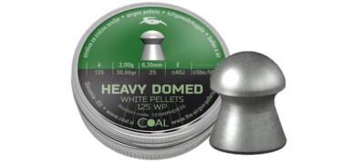 Βολίδες COAL HEAVY DOMED 6.35 mm/125