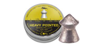 Βολίδες COAL HEAVY POINTED 6.35 mm/125