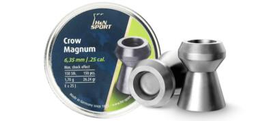 Βολίδες H&N CROW MAGNUM 6.35mm/150