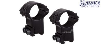 Δαχτυλίδια HAWKE 25mm HIGH (9-11)