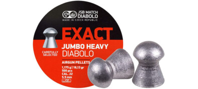 JSB EXACT JUMBO HEAVY 5.53mm