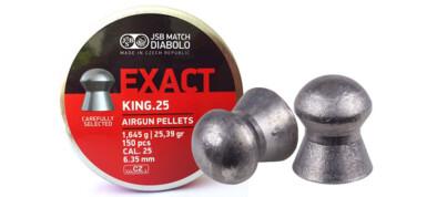 Βολίδες JSB EXACT KING .25 6.35mm
