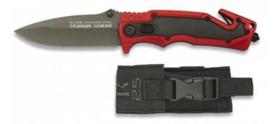 K25 Black & Red Safe Button