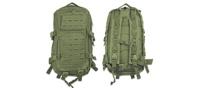 BARBARIC 30L LASER MOLLE Green