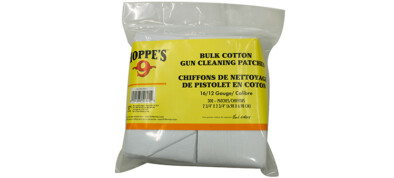 Hoppe's Cleaning Patches 16/12Cal
