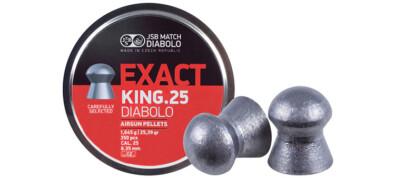 Βολίδες JSB EXACT KING 25 6.35mm