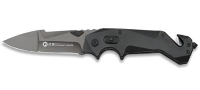 Σουγιάς K25 Tactical Safe Button BLACK