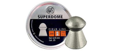 Βολίδες RWS SUPERDOME 6.35mm