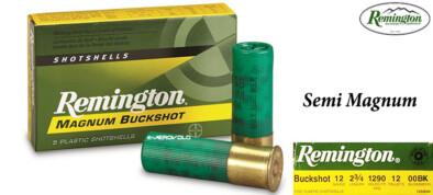 Φυσίγγια Remington (SEMI) Magnum Buckshot 12Βολα