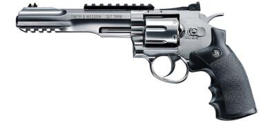 S&W 327 TRR8 Nickel 4.5mm