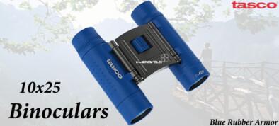 Tasco 10x25 Blue Rubber Armor