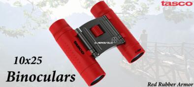 Tasco 10x25 Red Rubber Armor