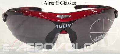 Airsoft Γυαλιά POLARIZED TULIN (Red)
