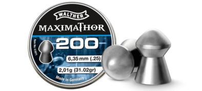 Βολίδες WALTHER MAXIMATHOR 6.35mm