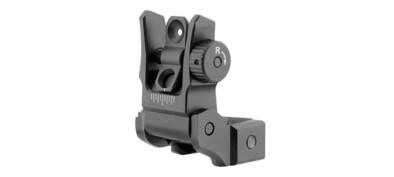 UTG AR15 Super Slim Flip-Up Rear Sight