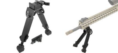 UTG Rubber Armored Quick Detach Bipod