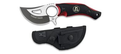 K25 CNC Black/Red Skinner (32292)