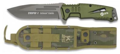 Μαχαίρι K25 Drow-1 green 12cm (32173)