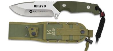 Μαχαίρι K25 Bravo green 12.5cm (32260)