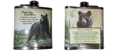 Φλασκί Black Bear 7oz (207ml)
