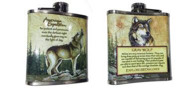 Φλασκί Gray Wolf 7oz (207ml)
