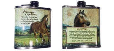 Φλασκί Mustang Horse 7oz (207ml)