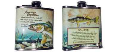 Φλασκί Walleye Fish 7oz (207ml)