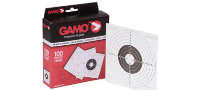 GAMO 100 Paper Targets 14x14cm