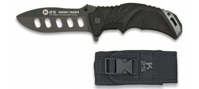 K25 Contact Trainer Pocket Knife Black