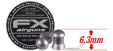 Βολίδες FX HEAVY 4.52mm / 500pcs