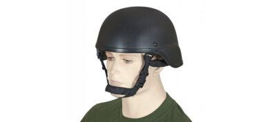 Κράνος PVC για Airsoft Μαύρο (35528)
