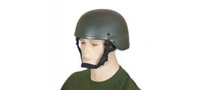Κράνος PVC για Airsoft Πράσινο (35529)