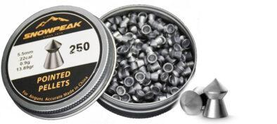 Βολίδες ARTEMIS POINTED 5.5mm/250pcs