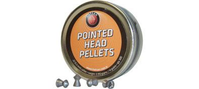 Hatsan Pointed Head Pellets 5.5mm/300 pcs