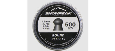Βολίδες ARTEMIS ROUND 4.5mm/500pcs