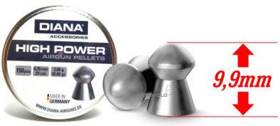 Βολίδες DIANA HIGH POWER 6.35mm